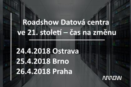 Roadshow Datová centra ve 21. století – čas na změnu
