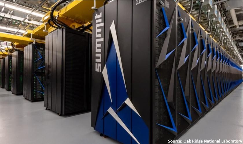 Summit supercomputer