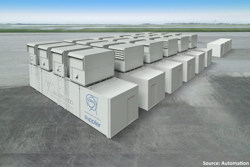 Automation modules provided for CERN