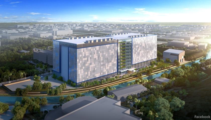 Facebook Singapore datacenter
