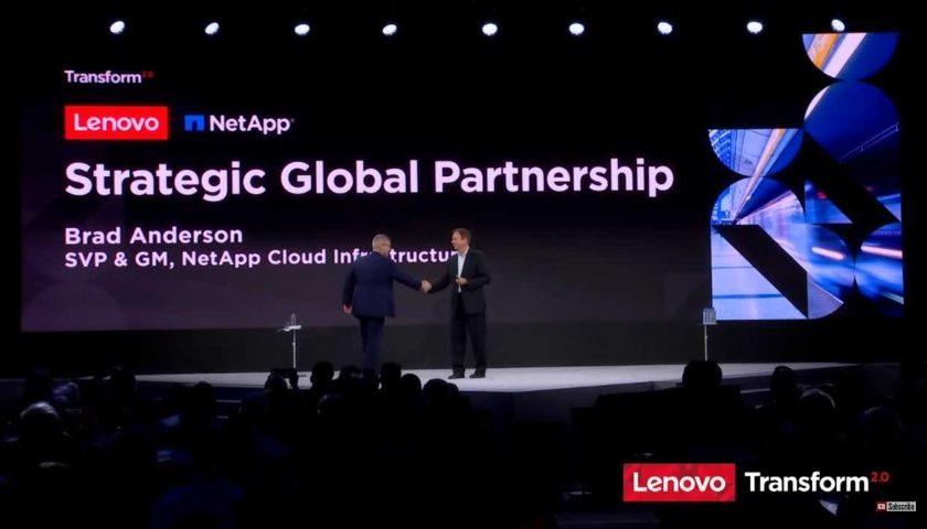 Lenovo a NetApp uzavřeli partnerství