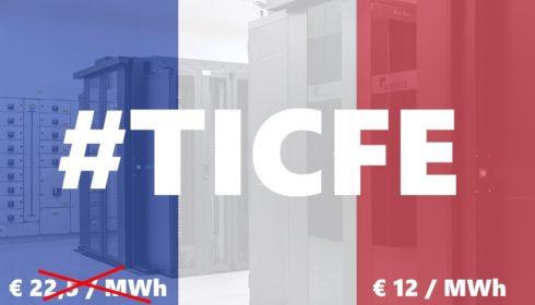 Francie sníží daň z elektřiny pro datová centra