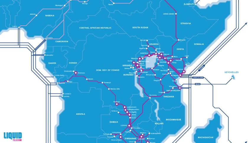 Liquid Telecom network