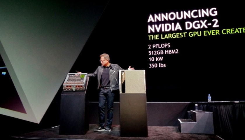Nvidia launches DGX data center program