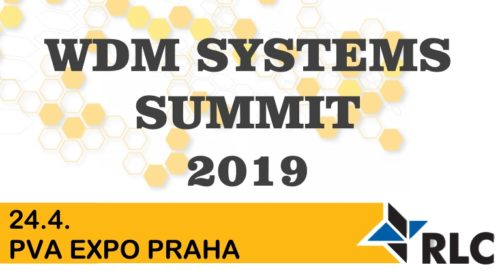 Pozvánka: WDM SYSTEMS SUMMIT 2019