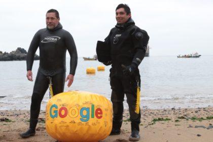 Google dokončil kabel Curie, spojuje USA s Chile