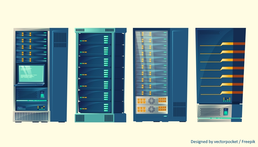 server racks freepik