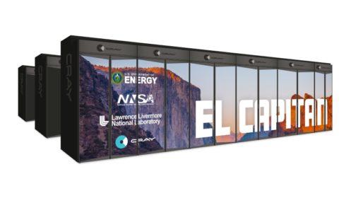 Cray postaví 1,5 exaFLOPS systém El Capitan