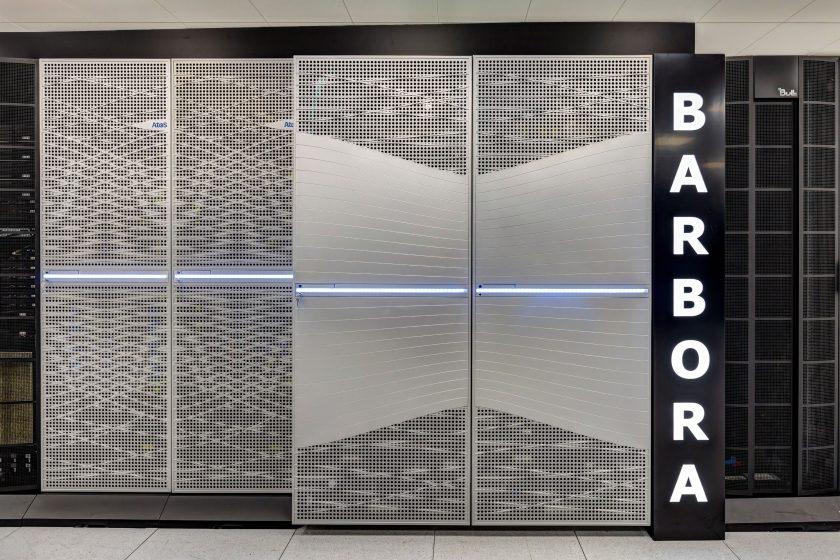 Barbora supercomputer