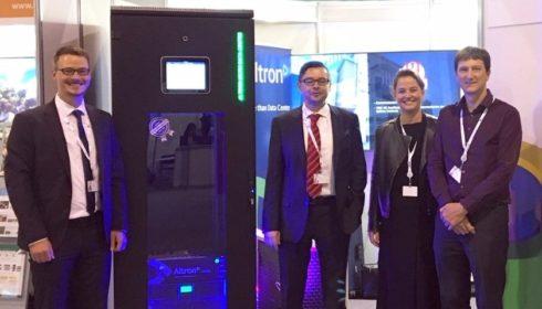 Mikro-datové centrum budilo na ITU Telecom World 2019 pozornost