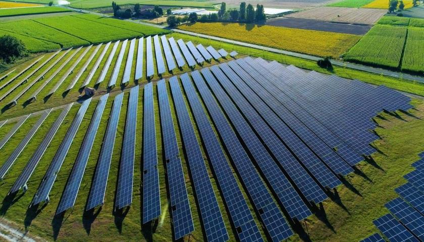 Amazon solar farms