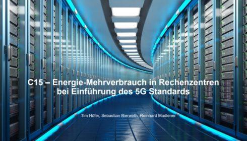 5G zvýší energetické nároky datových center