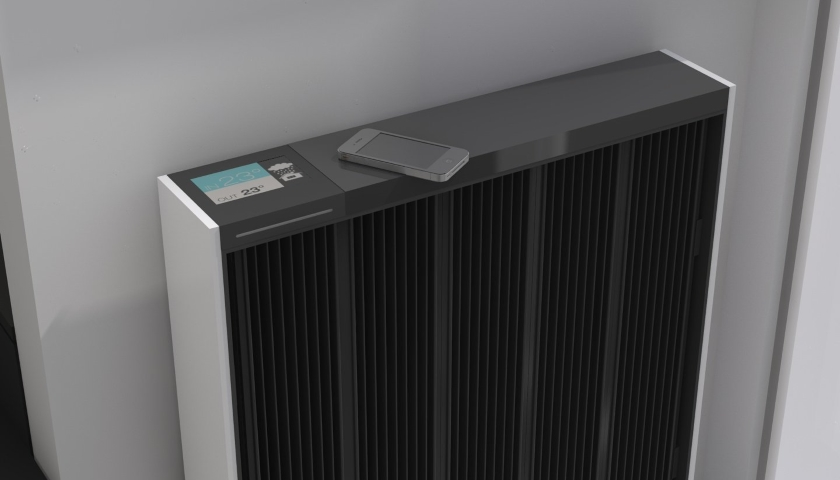 Digital radiator Qarnot