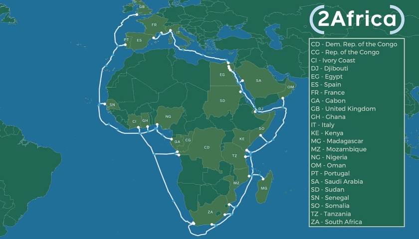 2Africa cable