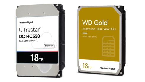 CMR disky WD Gold a Ultrastar 16 a 18 TB