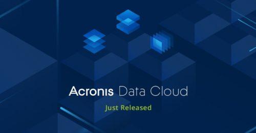 Acronis Data Cloud, platforma pro poskytovatele služeb