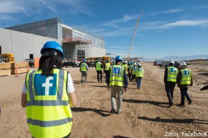Facebook staví za 750 milionů dolarů datové centrum