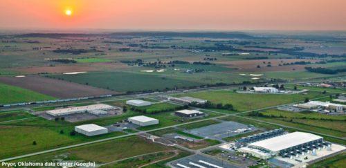 Google vynaloží 600 miliónů dolarů na expanzi datového centra Pryor