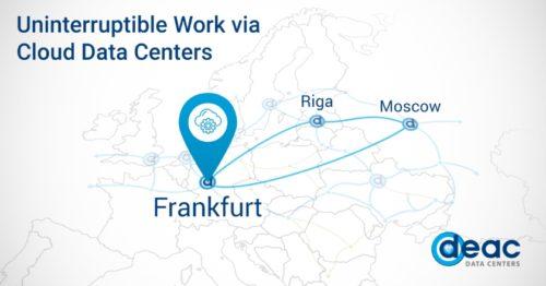 DEAC rozšiřuje cloudovou platformu o virtuální datové centrum ve Frankfurtu